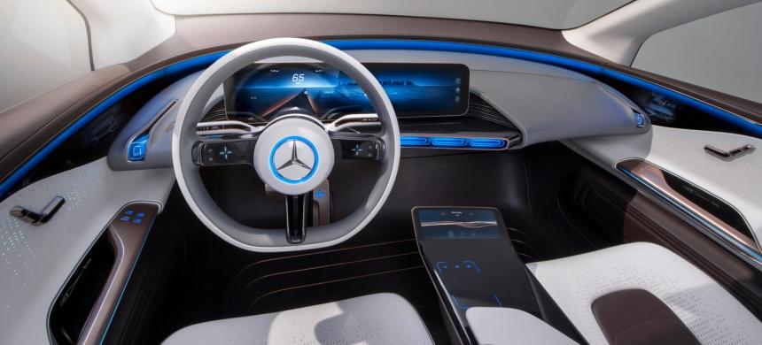 052 Evolu8 Mercedes EQ dash