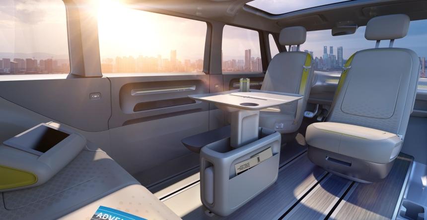 052 Evolu8 VW Buzz back seat