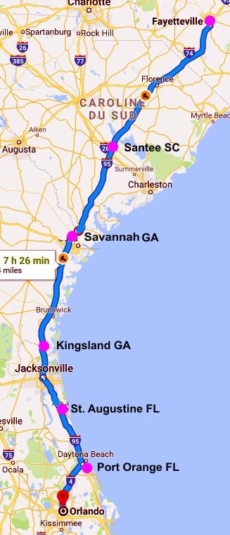 064 Floride Carte Aller