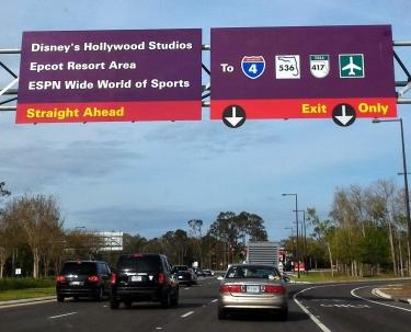 066 Floride Disney Route