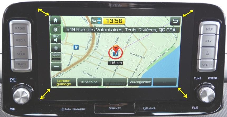 070 Kona Exper Screen GPS