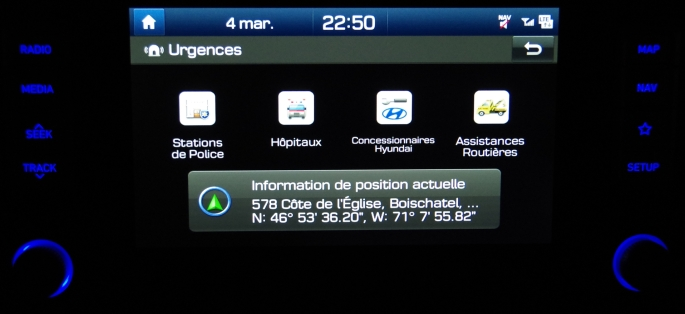 070 Kona Exper Screen Urgence