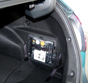 074 Honda Clarity Coffre Spare