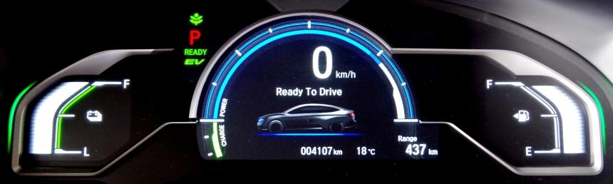 074 Honda Clarity Ecran