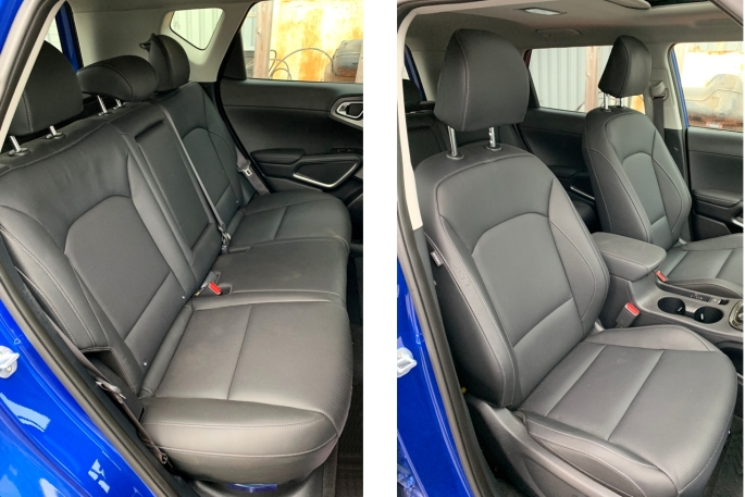 082 KiaSoul Seat Cuir